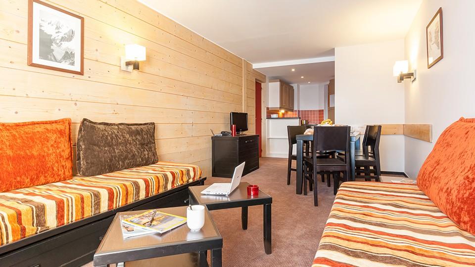 Apartment Interior, Residence Le Tikal, Val Thorens, France