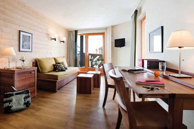 Apartment Interior, Residence Le Machu Pichu, Val Thorens, France