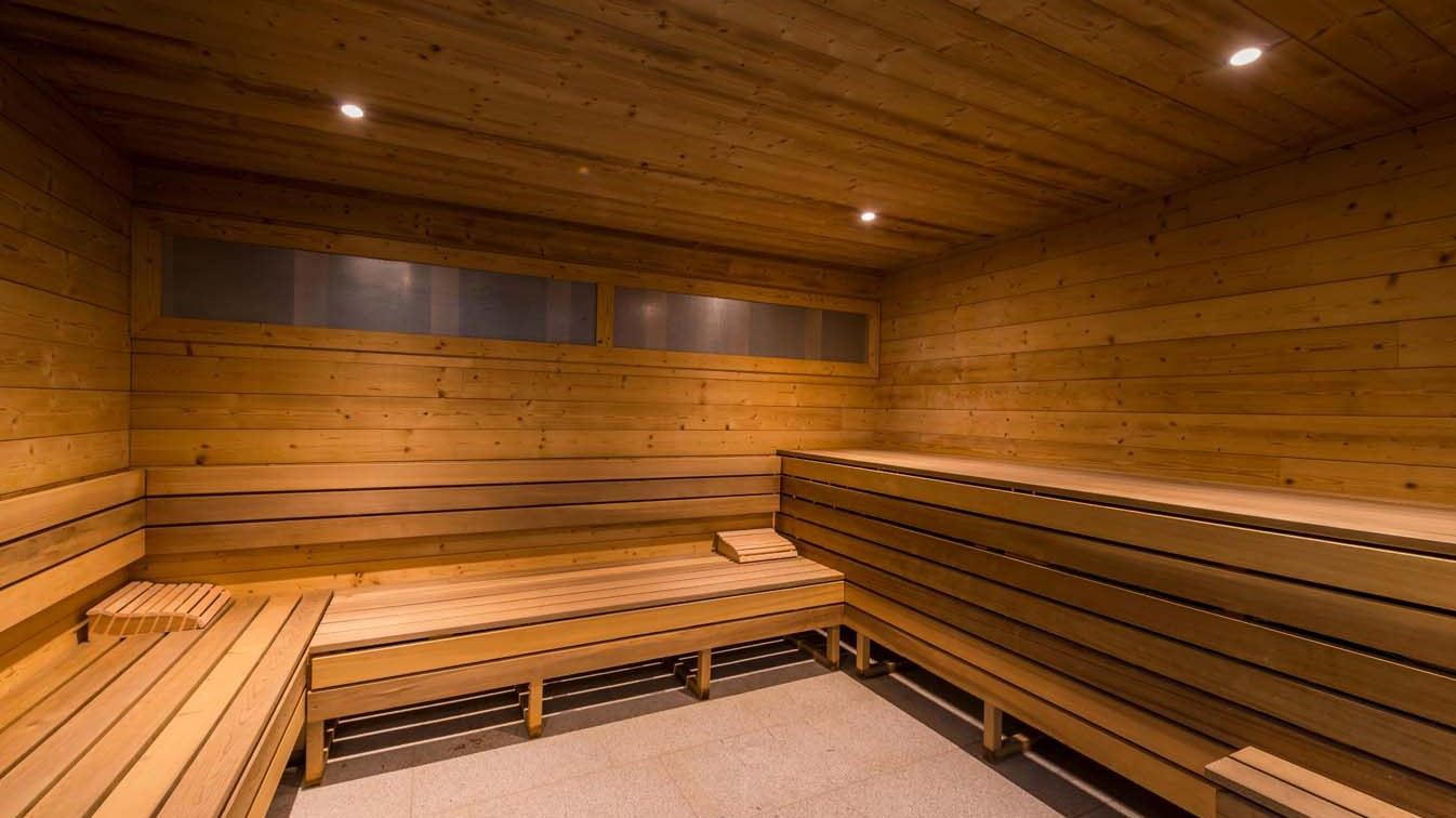 Chalet Aries, Val Thorens, France, shared sauna in Val 2400 building