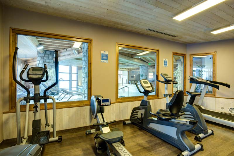 Chalet Peche, Val Thorens, France, Gym Equipment in Complex