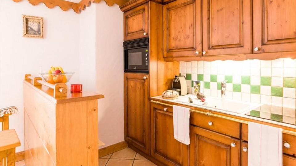 Kitchenette, Residence L'Ecrin des Neiges, Tignes