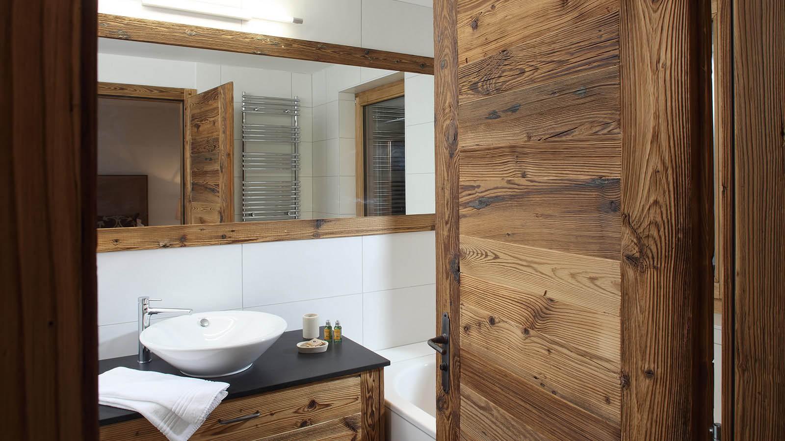 Bathroom in chalet Rosablanche, Nendaz