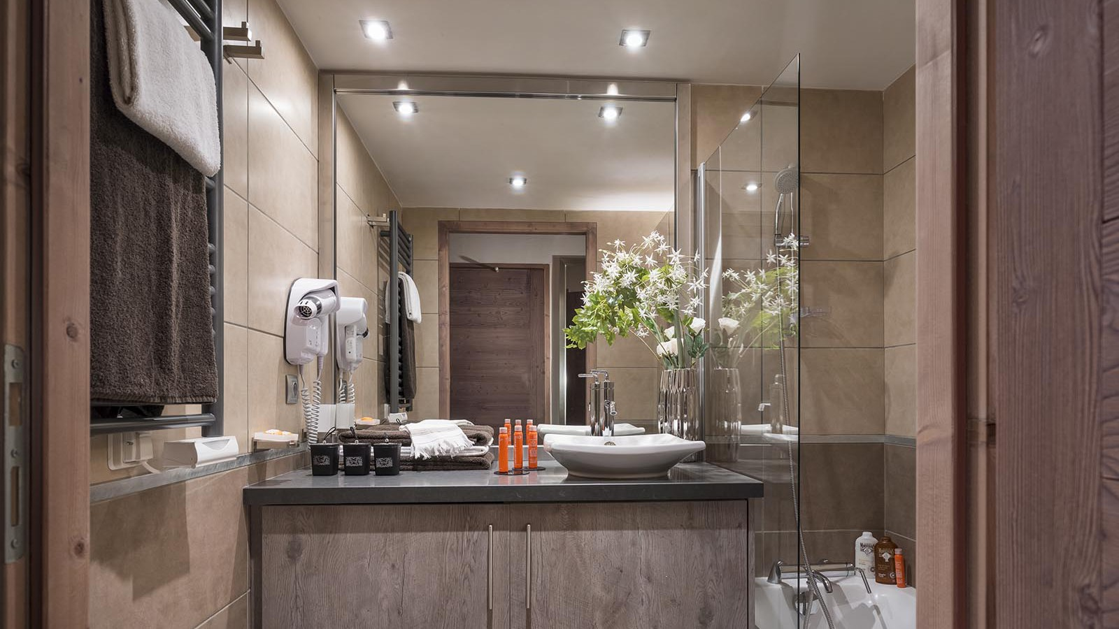 Bathrooms at CGH Le Centaure-apartment