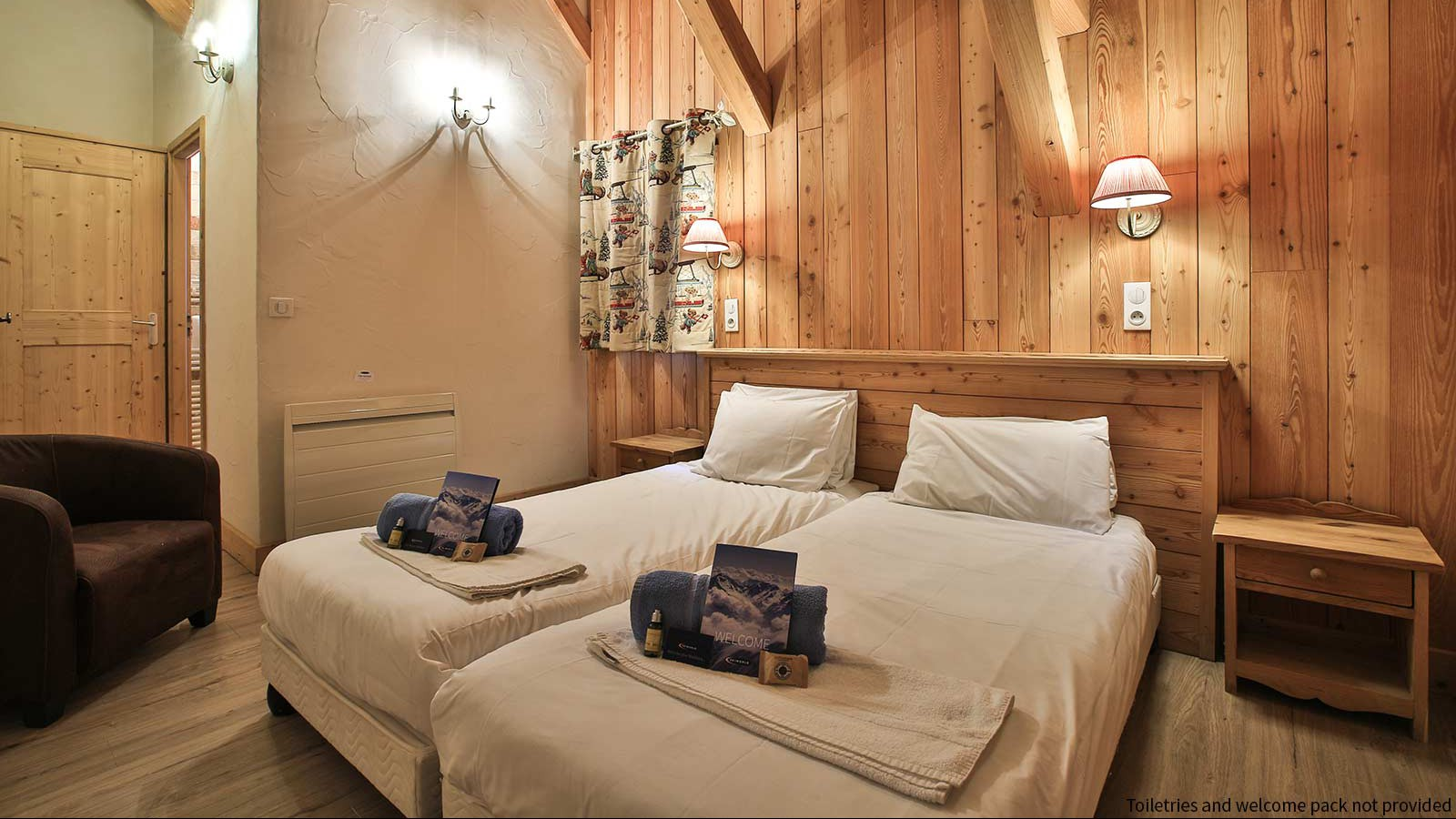 Bedroom, Chalet St Moritz - Ski Chalet in La Plagne, France