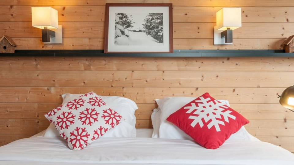 Double Bed, Residence Le Christiana, La Tania, France