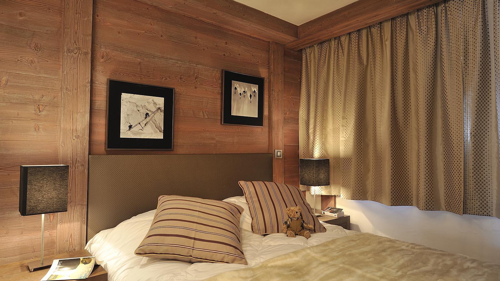 Bedroom at CGH Le Centaure-apartment