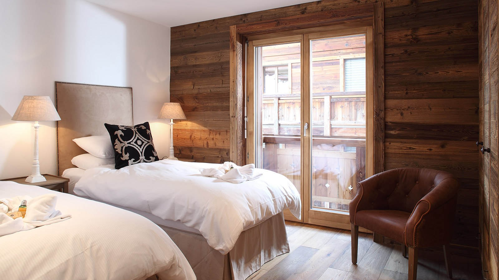 Bedroom in chalet Rosablanche, Nendaz