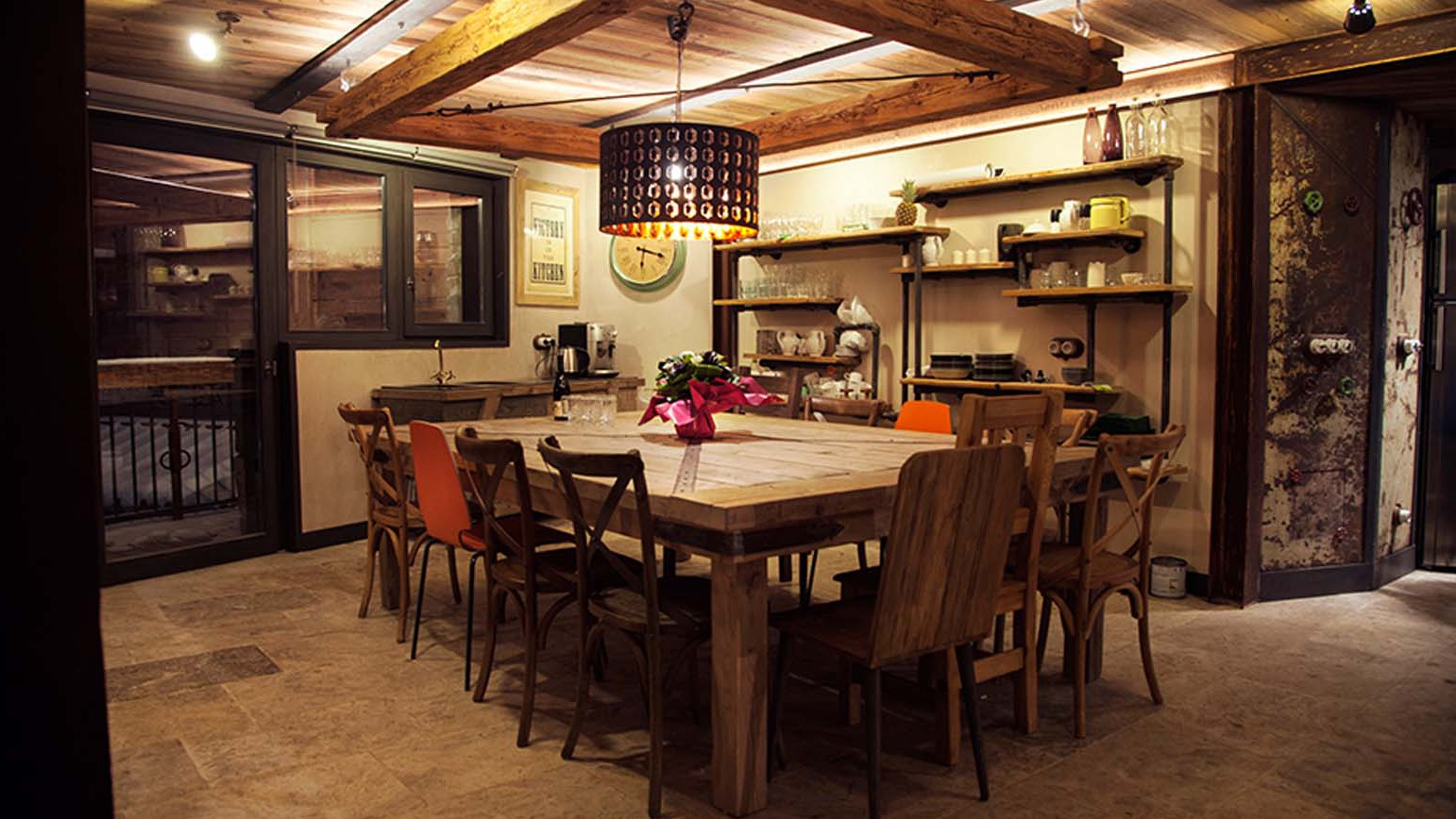 Dining Area, Chalet Benjamin, Courchevel, France