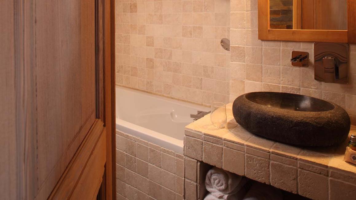 Bathroom in chalet Bonne Neige