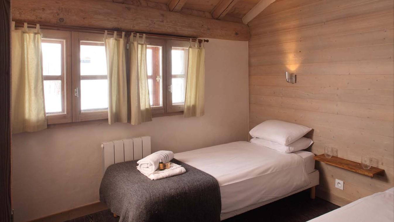 Bedroom in chalet Bonne Neige