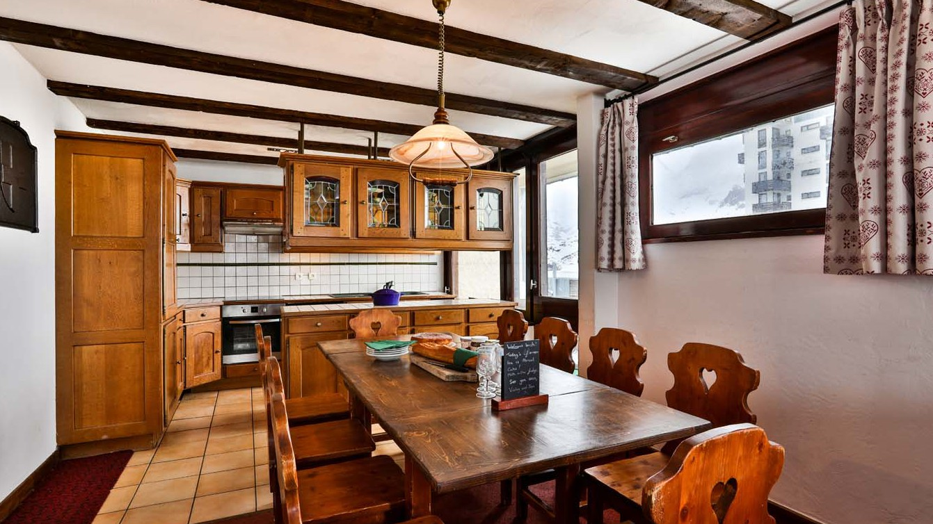 Dining Area, Chalet Bouquetin, Tignes, France