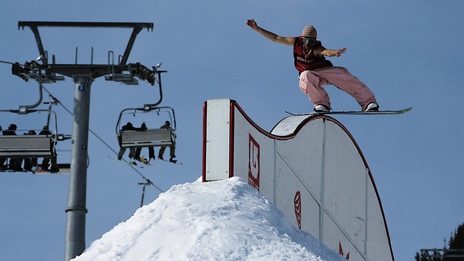Burton Fun Park in Mayrhofen