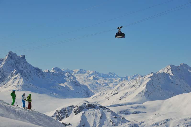 Cable Car, St Anton am Arlberg, Austria