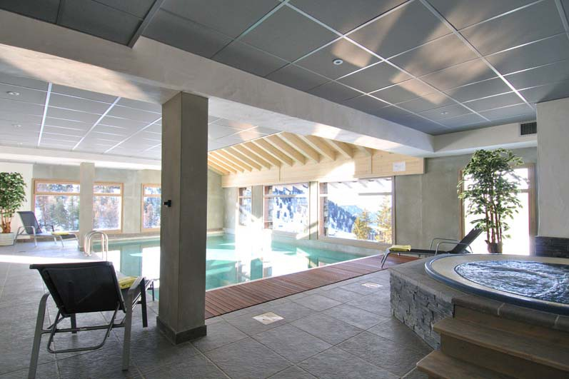Hotel Carlina, swimming pool, Belle Plagne