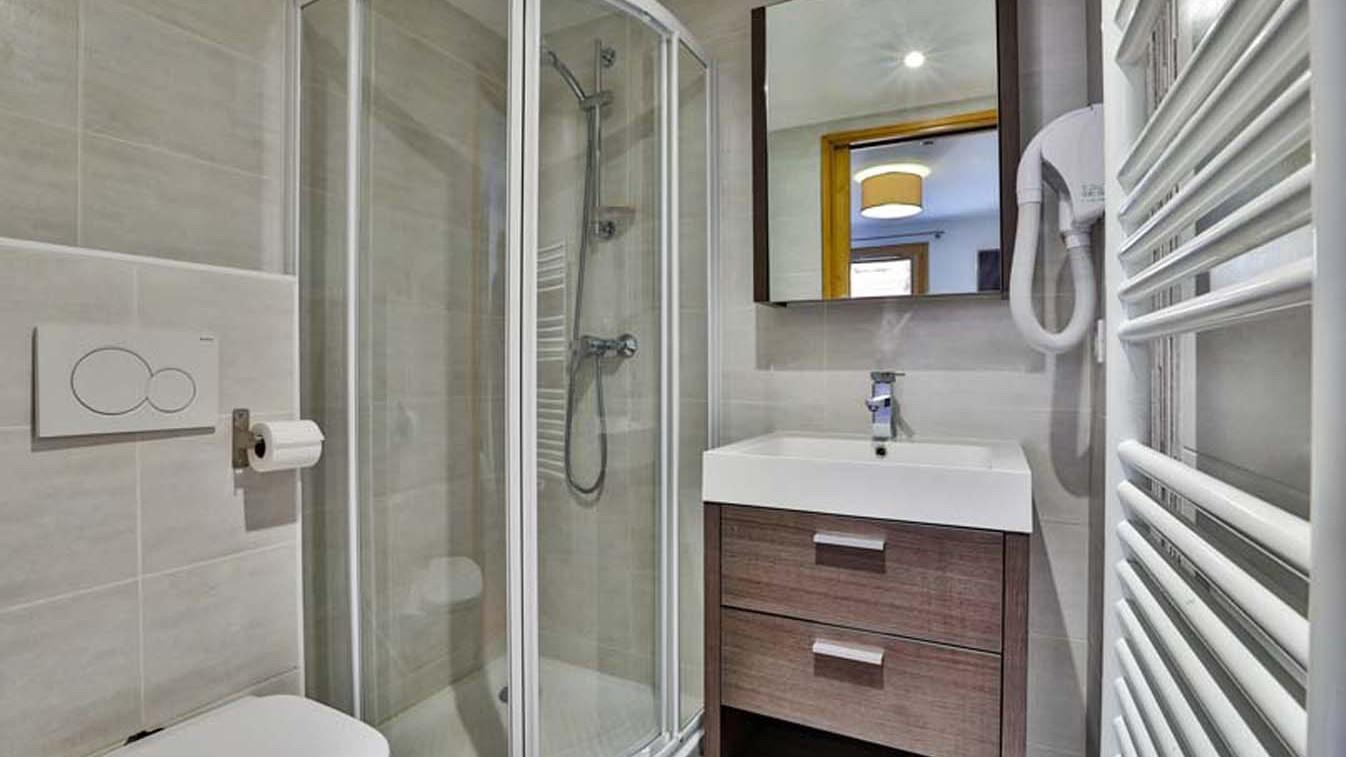 Bathroom, Chalet Carmen, Tignes, France