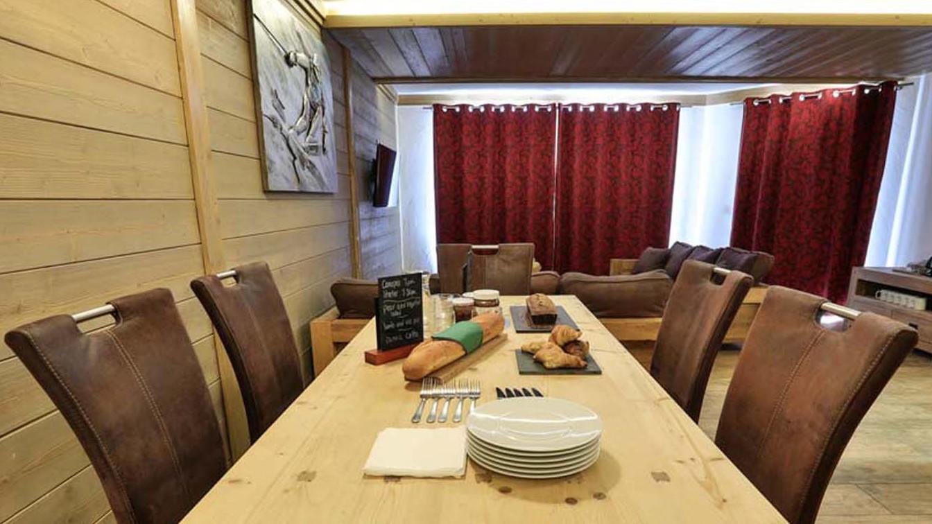 Dining Area, Chalet Carmen, Tignes, France