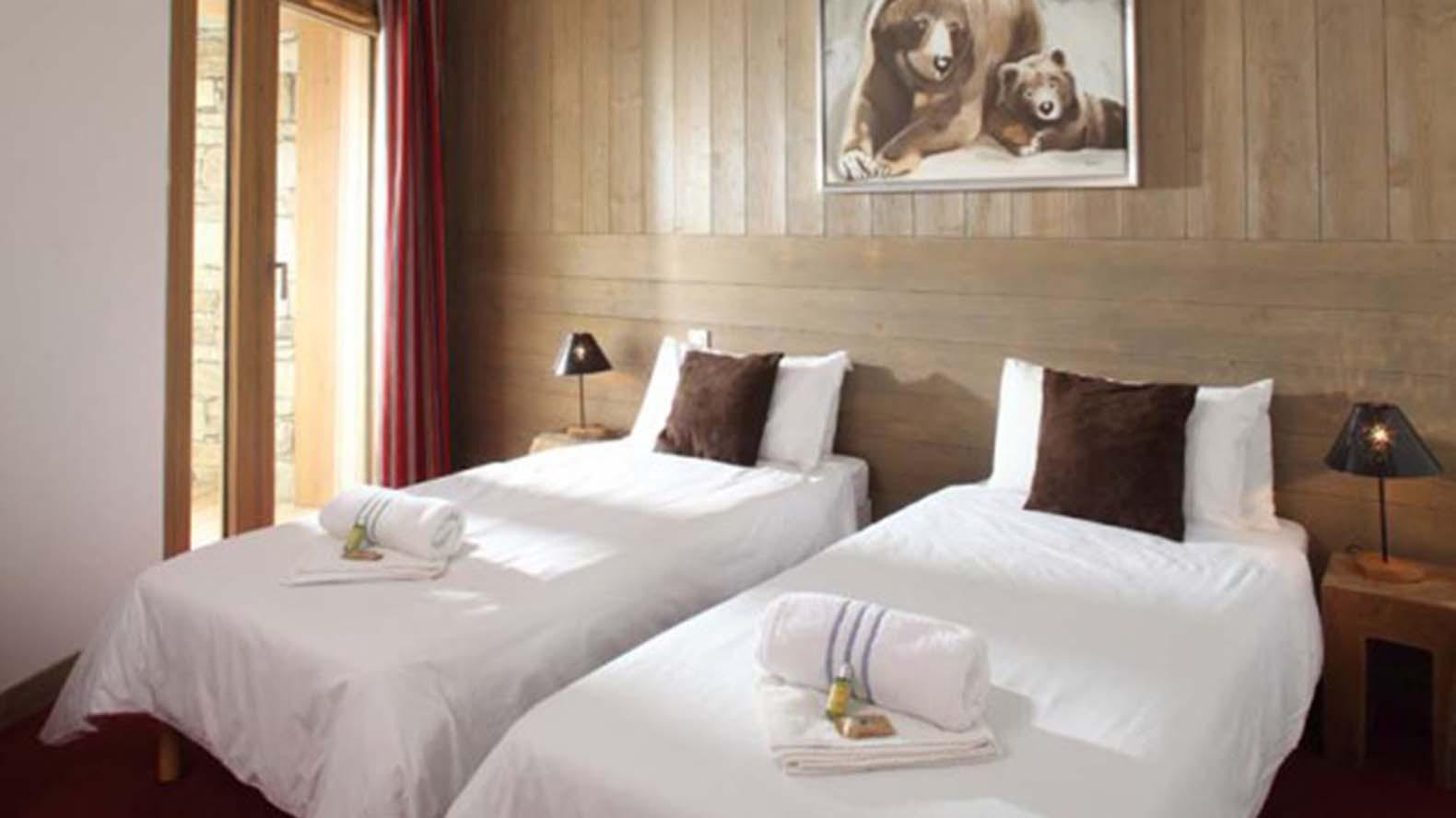 Bedroom, Chalet Carmen, Tignes, France