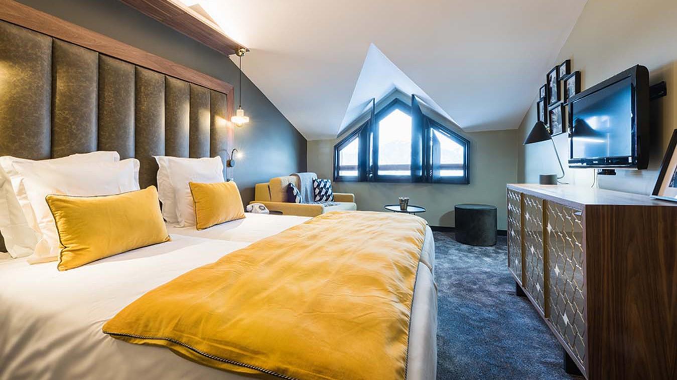 Hotel Fahrenheit 7, Hotel in Courchevel