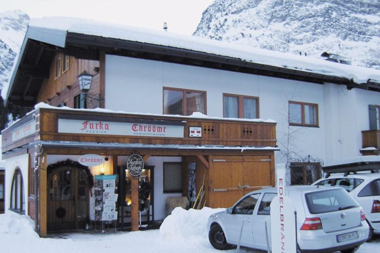 Chalet Furka ext shop, Lech - Zug