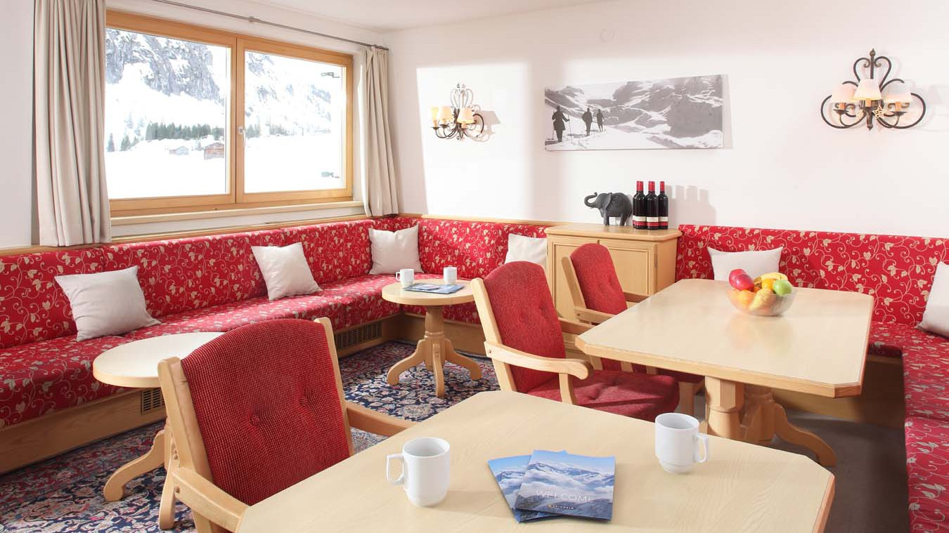 Chalet Alpenland, Chalet in Lech, Living Area