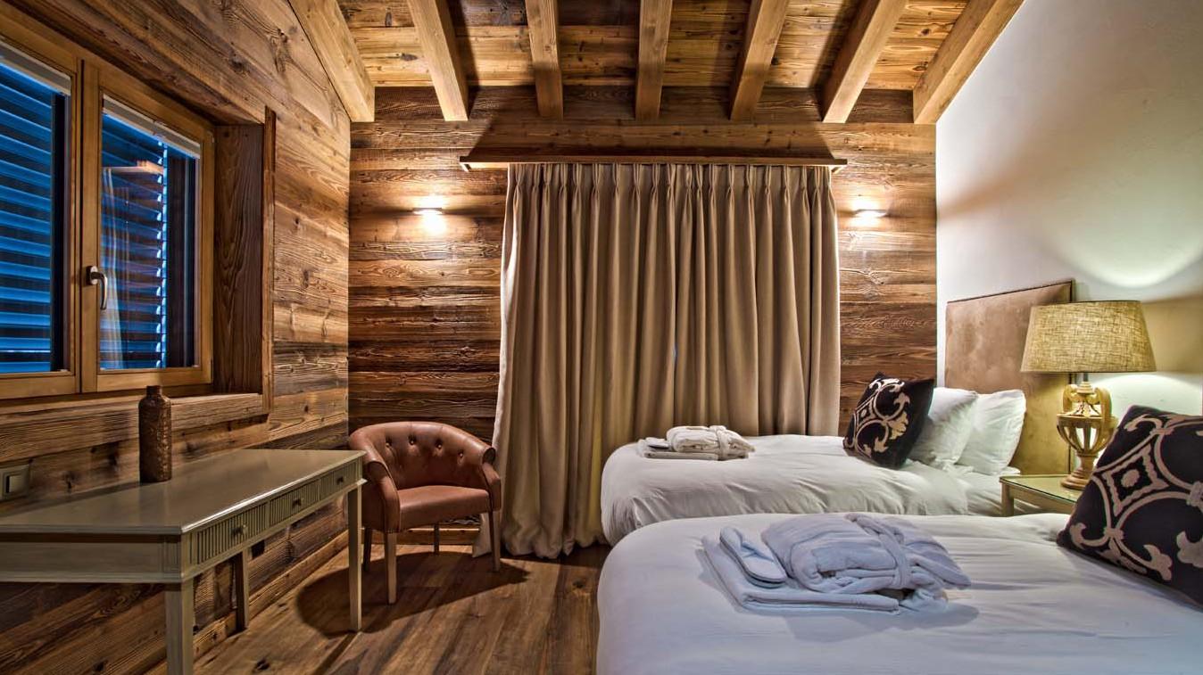 Bedroom 3, Chalet Altair, Ski Chalet in Nendaz, Switzerland