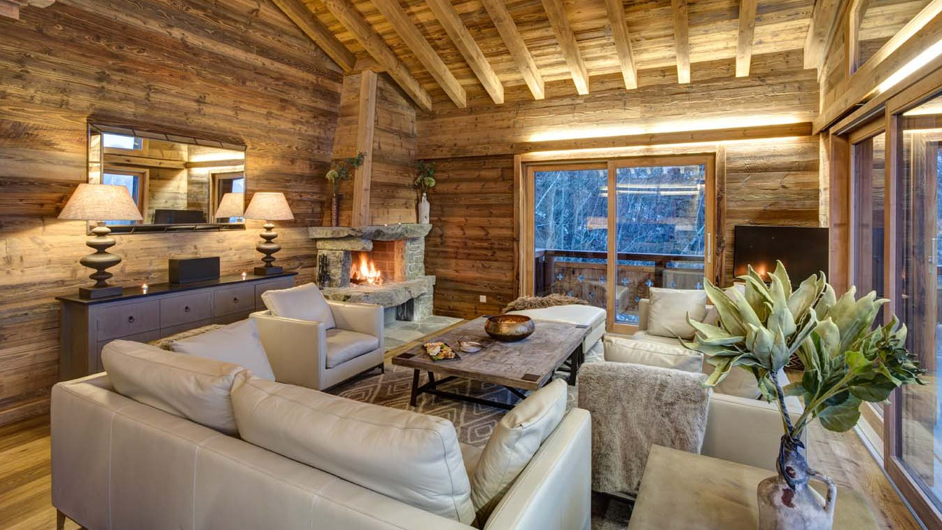 Main Living Area, Chalet Altair, Nendaz, Switzerland