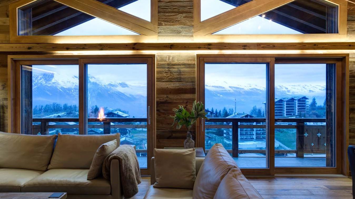 Main Living Area View, Chalet Altair, Nendaz, Switzerland