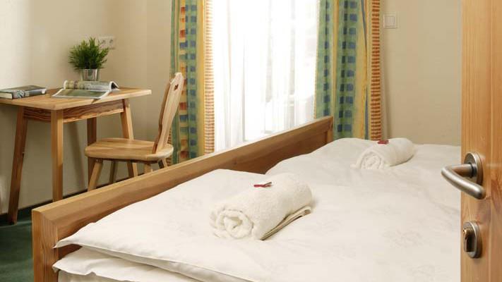 Chalet Baren bed view, St Anton