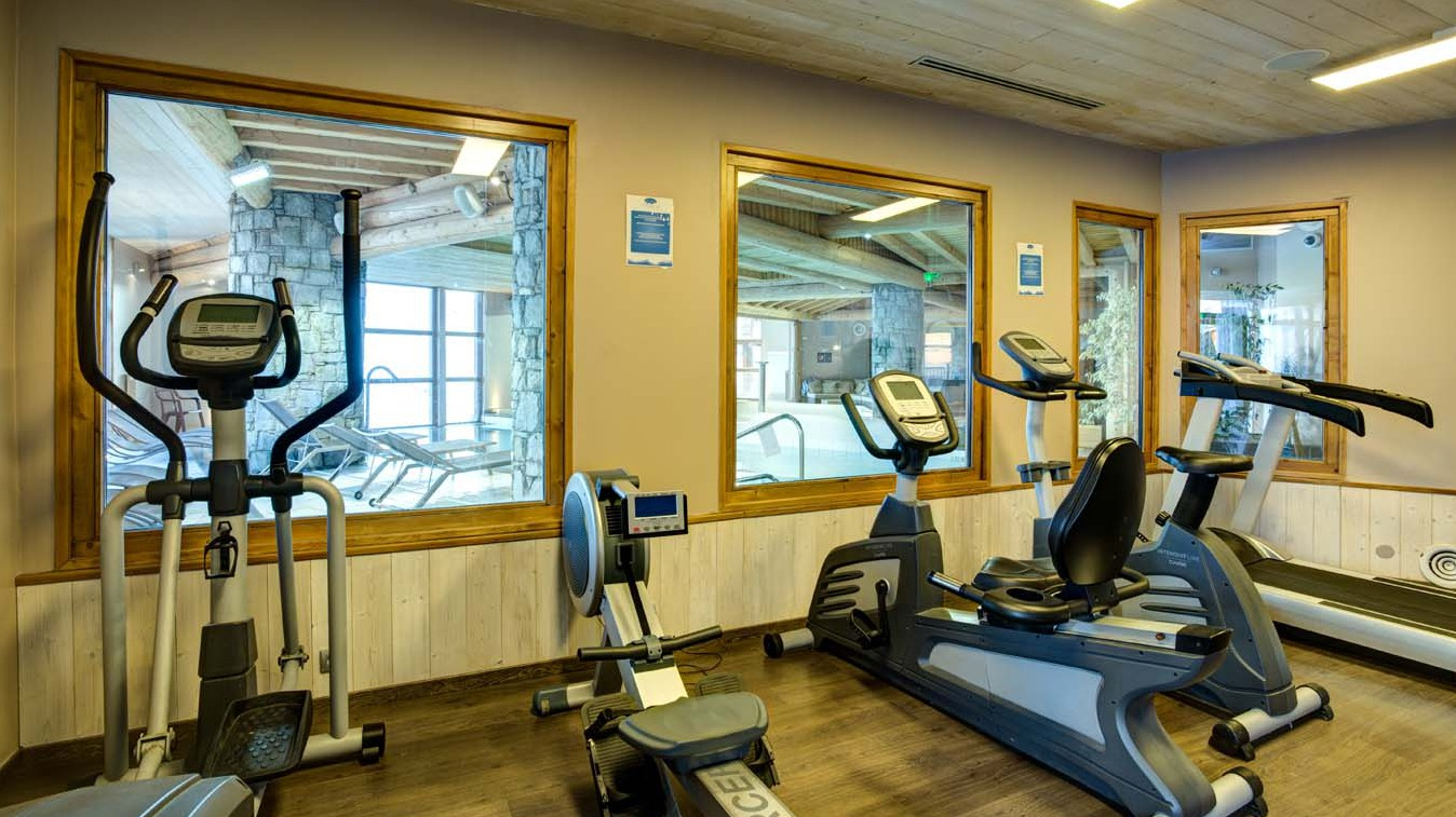 Chalet Carambole, Val Thorens, France, Gym in Complex