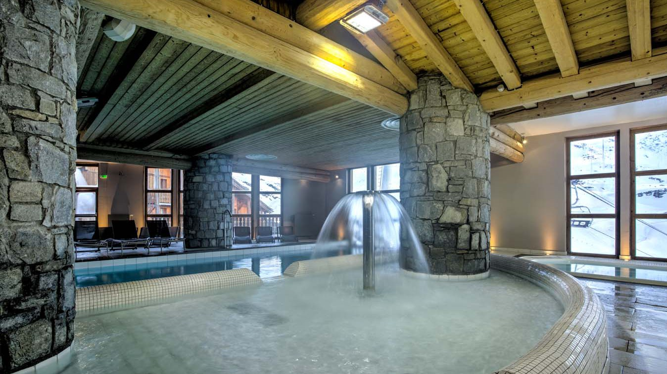 Chalet Carambole, Val Thorens, France, Pool in Complex