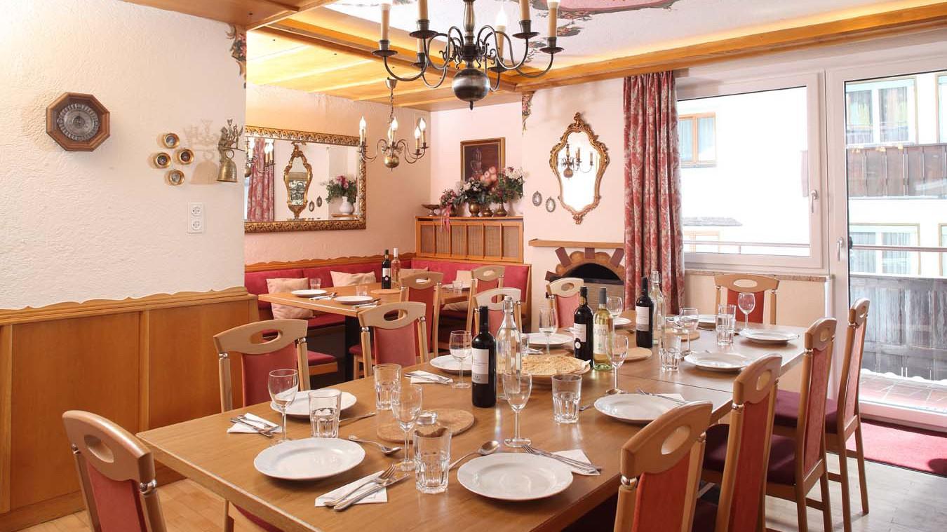 Dining Area, Chalet Hans, St Anton, Austria