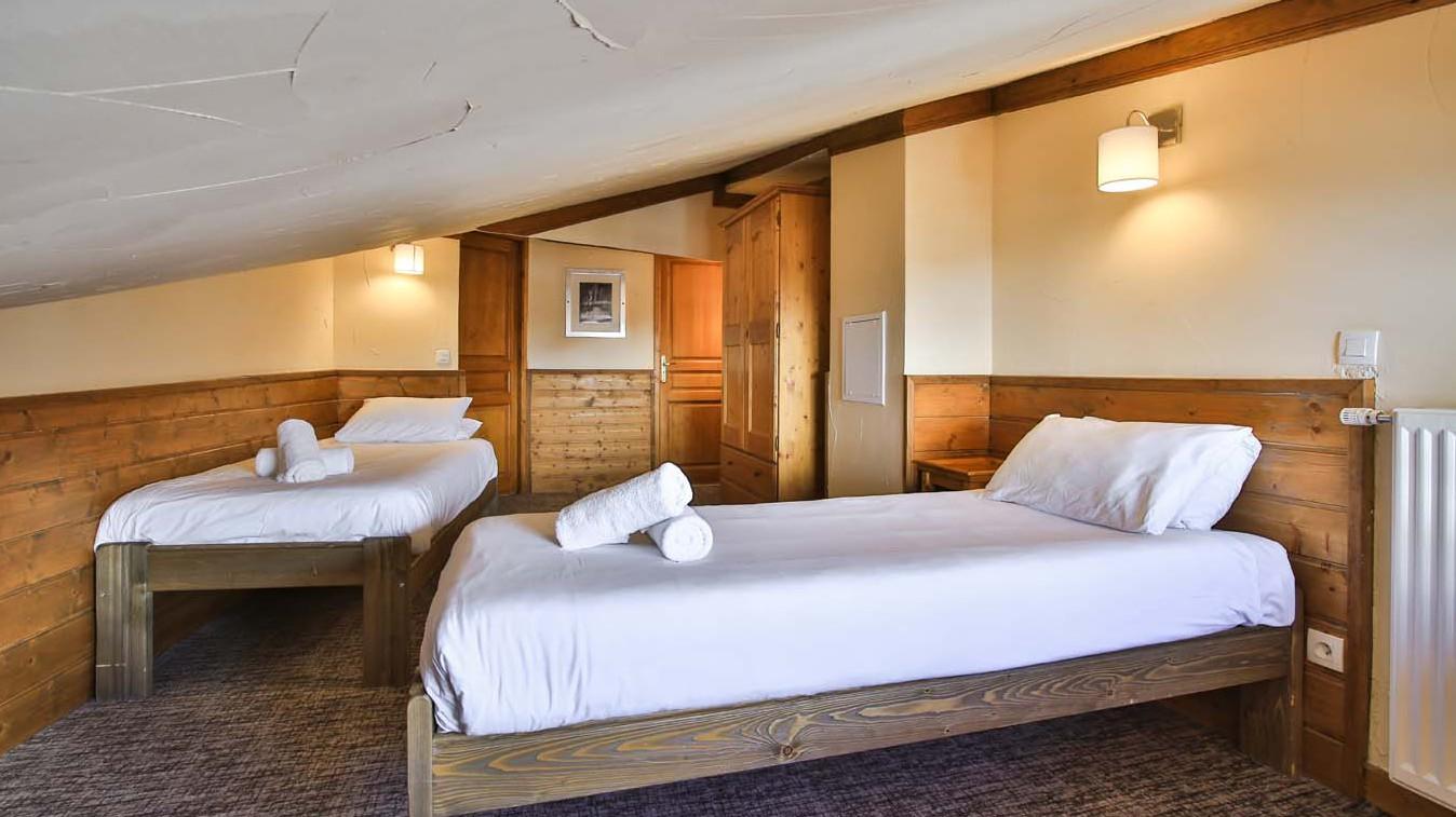 Bedroom, Chalet Milo, Val Thorens, France