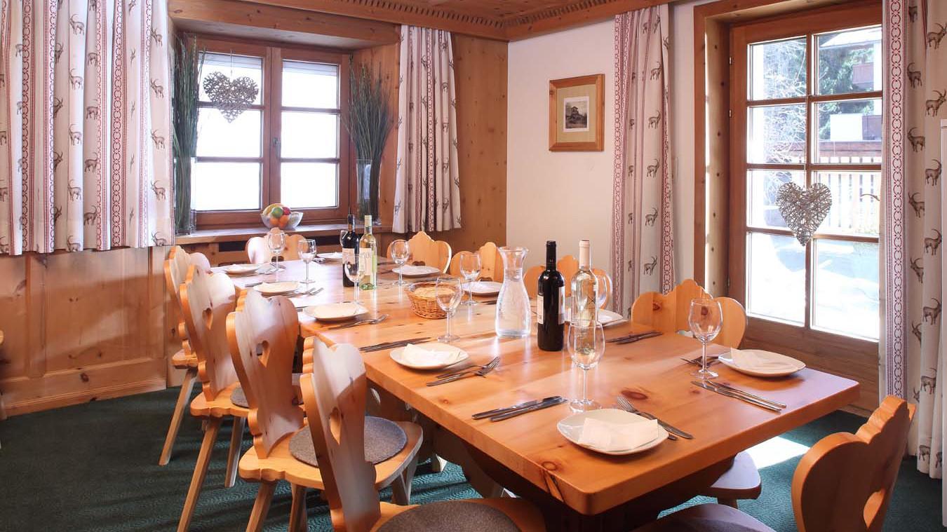 Chalet Stilvoll, Chalet in St Anton, Dining Room