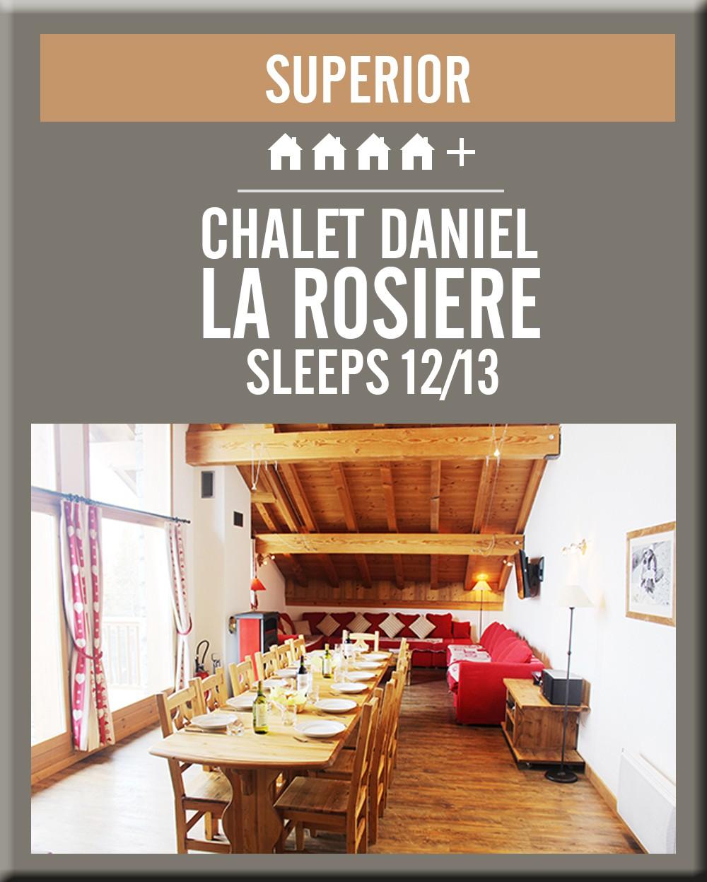 France chalet daniel la rosiere dining room