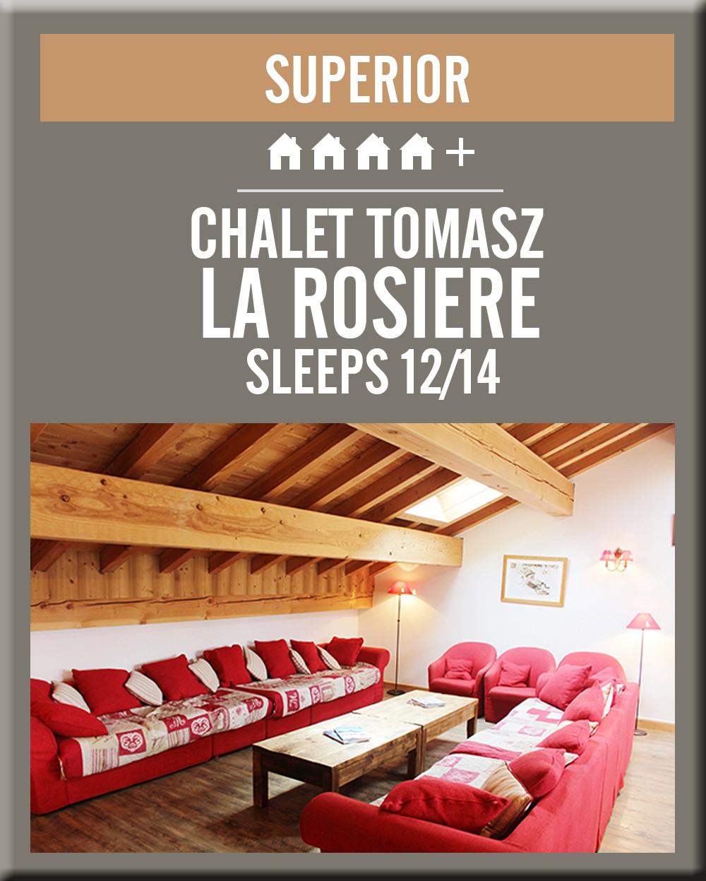 France chalet tomasz la rosiere lounge