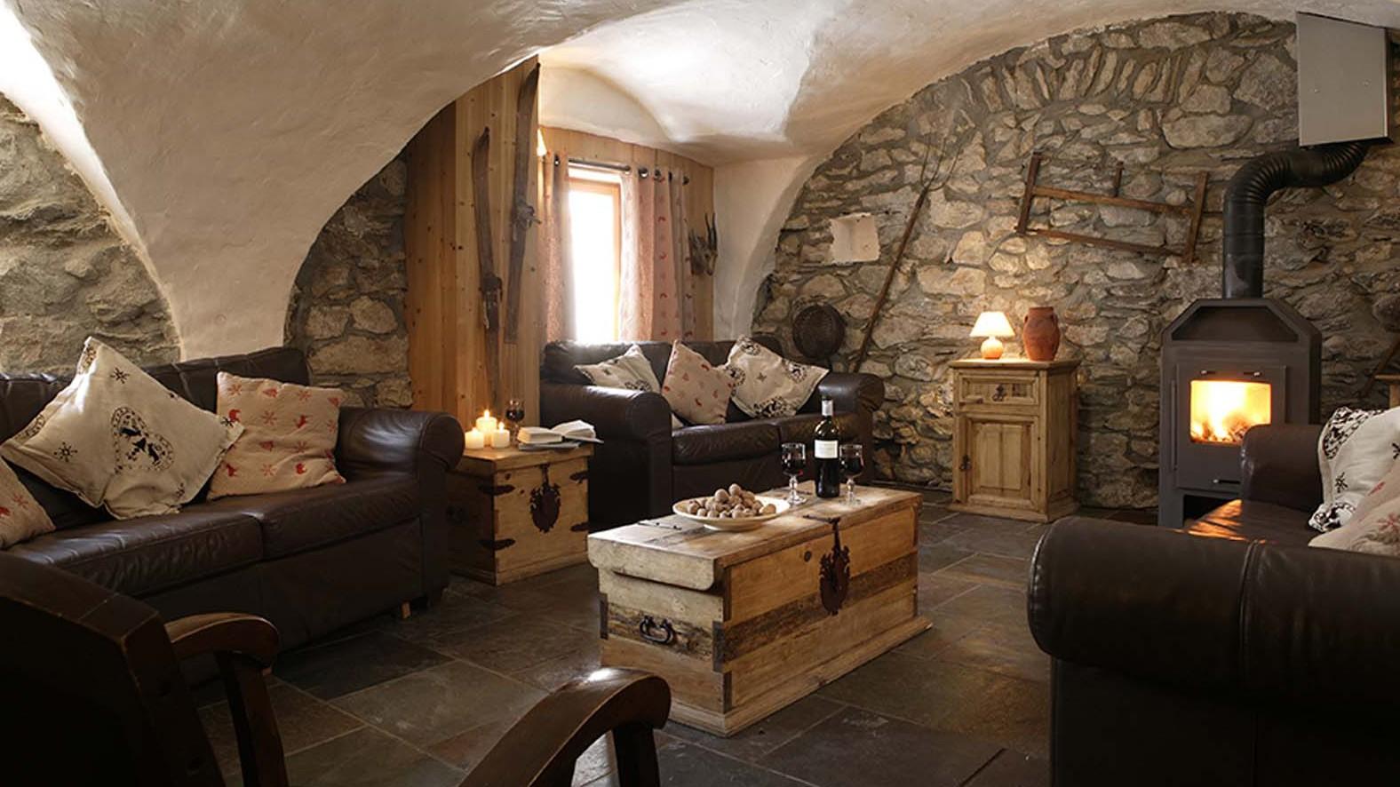 Chalet Chamois Volant lounge, Les Deux Alpes