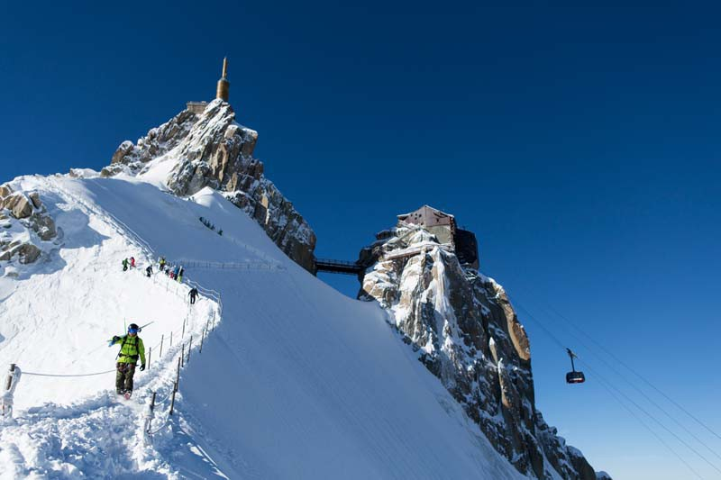 How to Get On a Ski Lift with a Snowboard