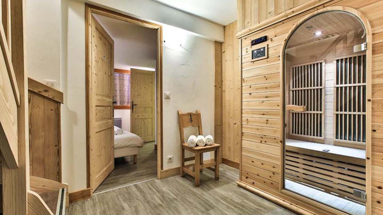 Sauna, Chalet Charmant, La Plagne, France