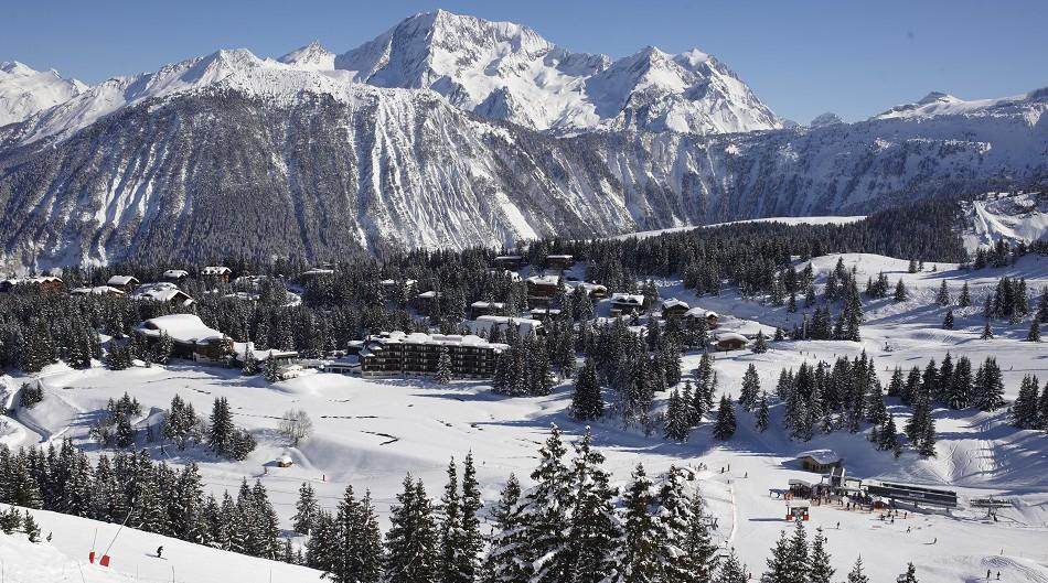 Courchevel Ski Resort - 3 Valleys - © David ANDRE