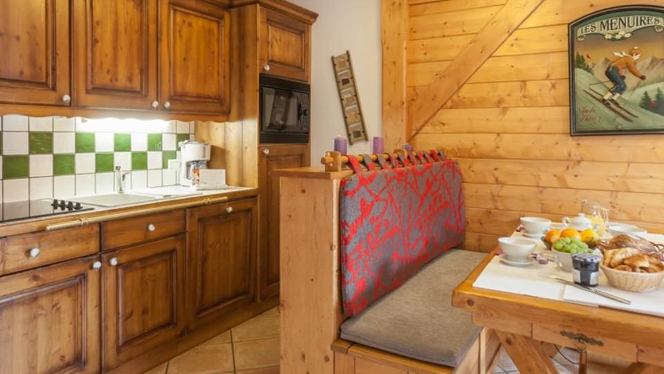 Kitchenette, Les Alpages de Reberty, Les Menuires, France