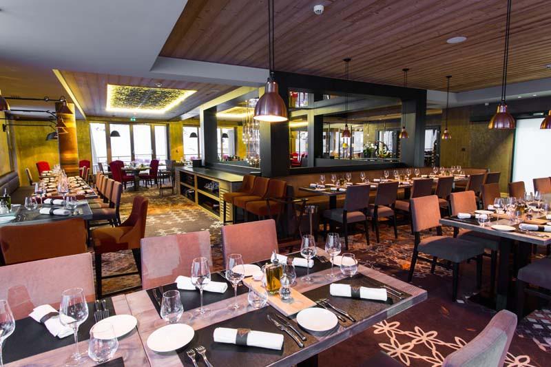 Dining Area, Hotel Taj-I-Mah - Ski Hotel in Les Arcs, France