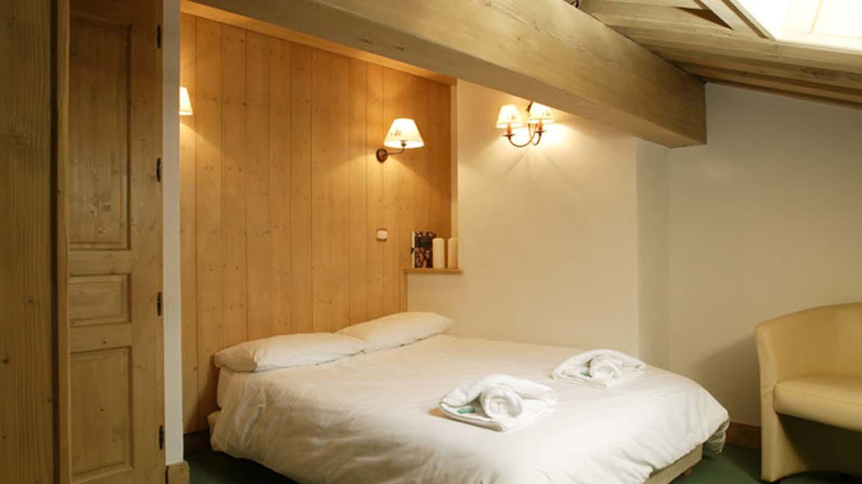 Bedroom in Chalet Dominique, ski chalet in Tignes, France