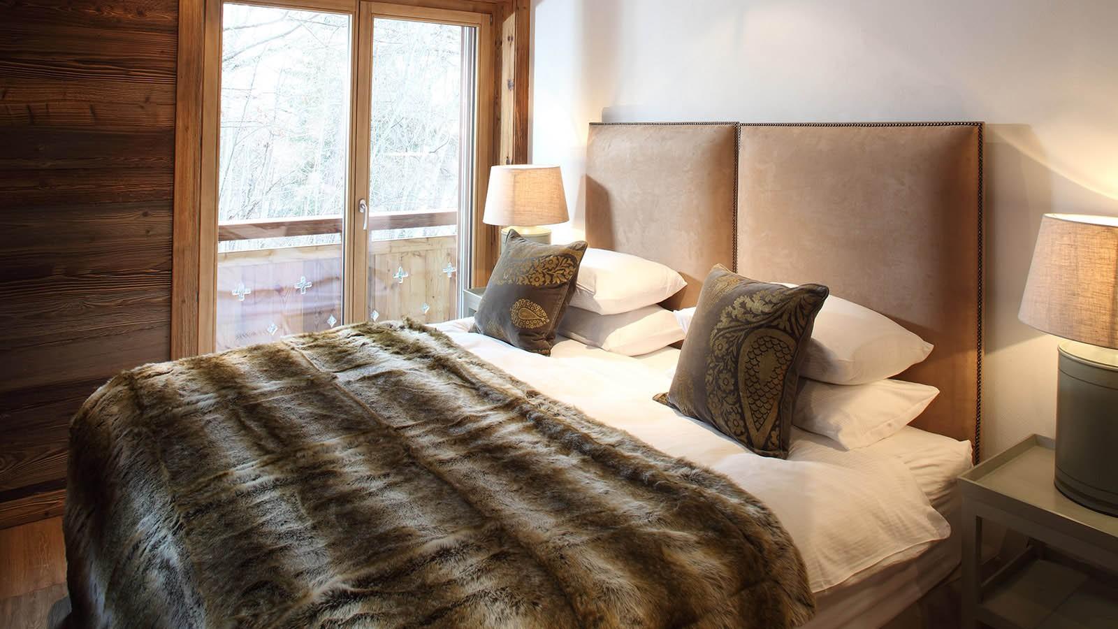 Double Bedroom in chalet Rosablanche, Nendaz