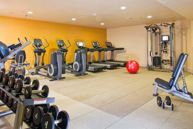 Fitness Room - DoubleTree by Hilton - Ski Hotel in Breckenridge, USA