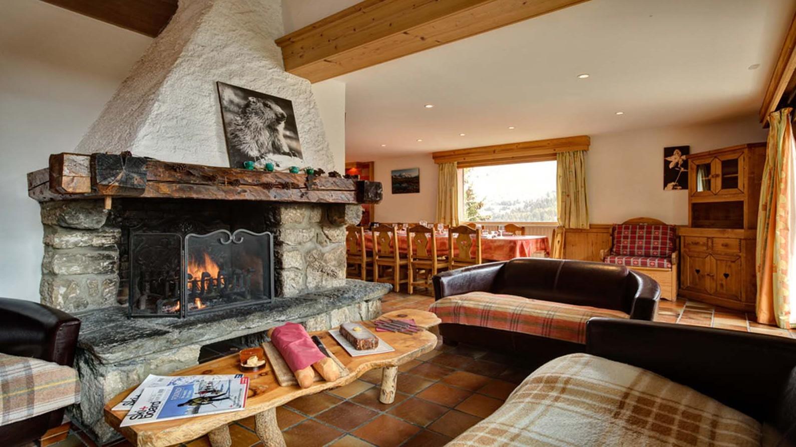 Lounge, Chalet Elodie - ski chalet in Meribel, France