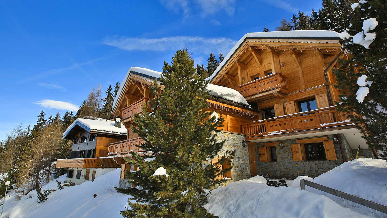 Exterior, Chalet St Moritz - Ski Chalet in La Plagne, France