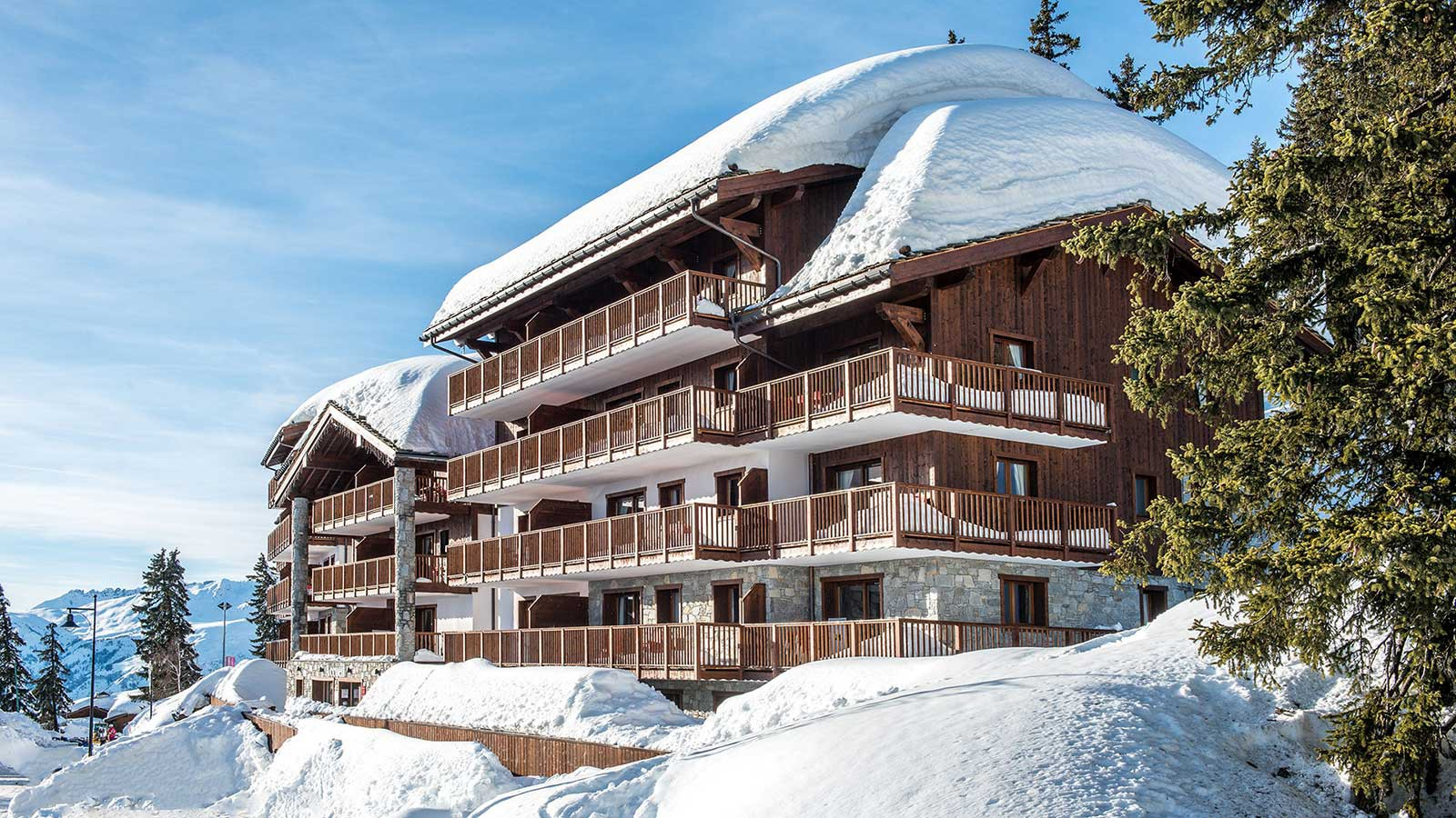 Exterior, Les Marmottons - Ski Apartments in La Rosiere, France