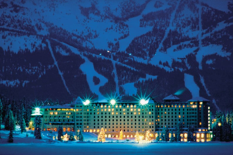 Fairmont Chateau Lake Louise Lake Louise Canada Skiworld