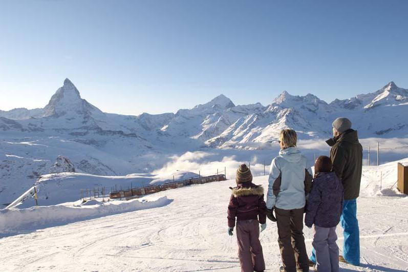 Zermatt, Switzerland, Gornergrat view