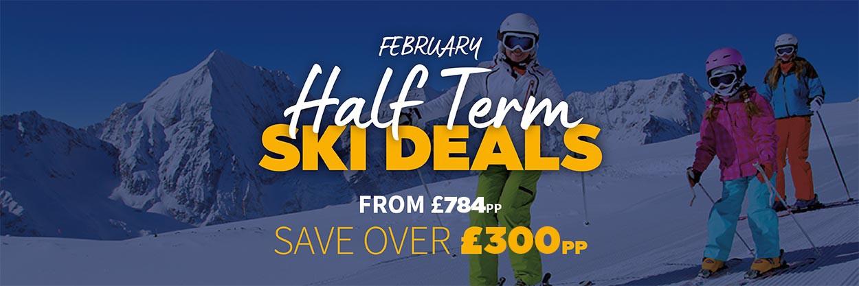 Half Term 2020 Ski Deals